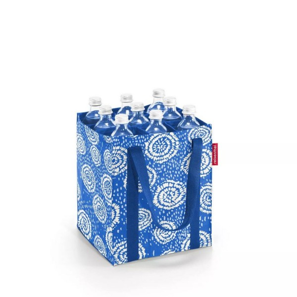 reisenthel® Bottlebag 9er batik strong blue ZJ4070