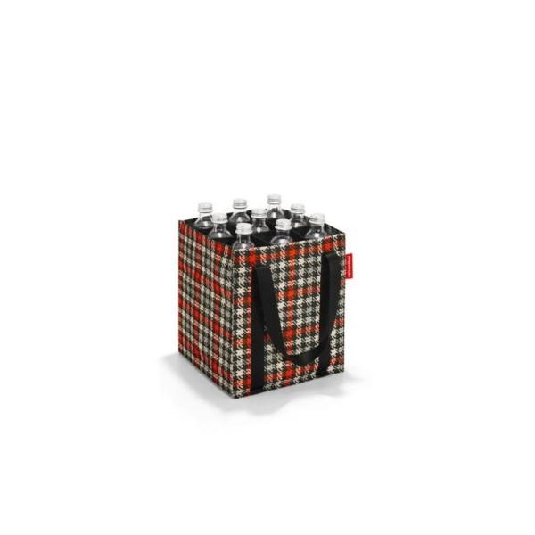 reisenthel® Bottlebag 9er glencheck red ZJ3068
