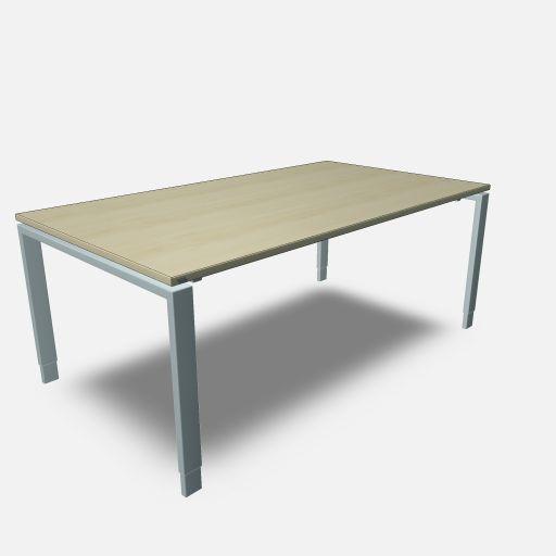 Assmann Schreibtisch Solos 180x100cm konfigurierbar