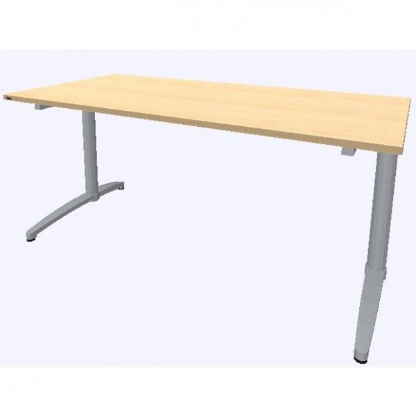 Assmann Schreibtisch Canvaro 160x80cm konfigurierbar