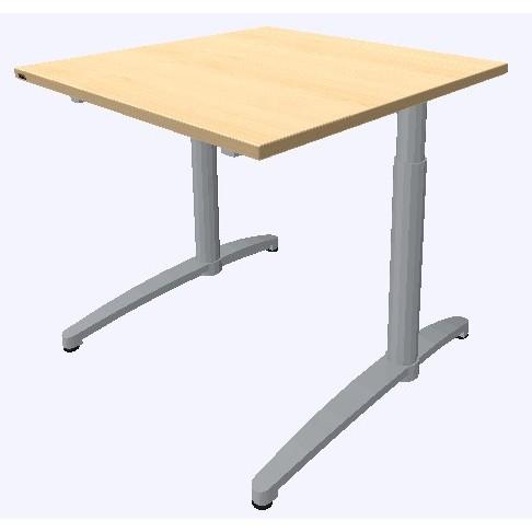 Assmann Schreibtisch Canvaro 80x80cm konfigurierbar