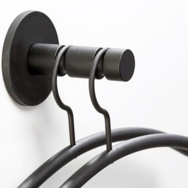 Cascando magnetische Wandgarderobe Clickon2 2042.B schwarz