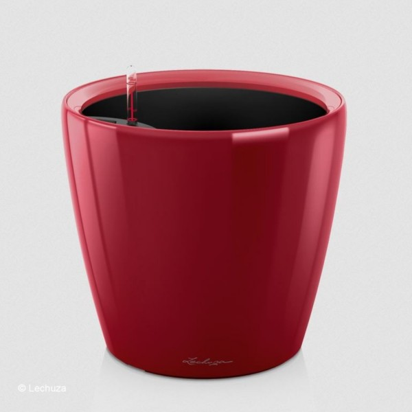 Lechuza Pflanztopf Classico LS 21 scarlet rot hochglanz 16027