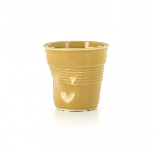 Revol Knickbecher Tasse Espresso gelb 80ml RV655458