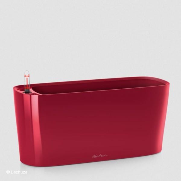 Lechuza Pflanzgefäß Delta 20 scarlet rot hochglanz 15579
