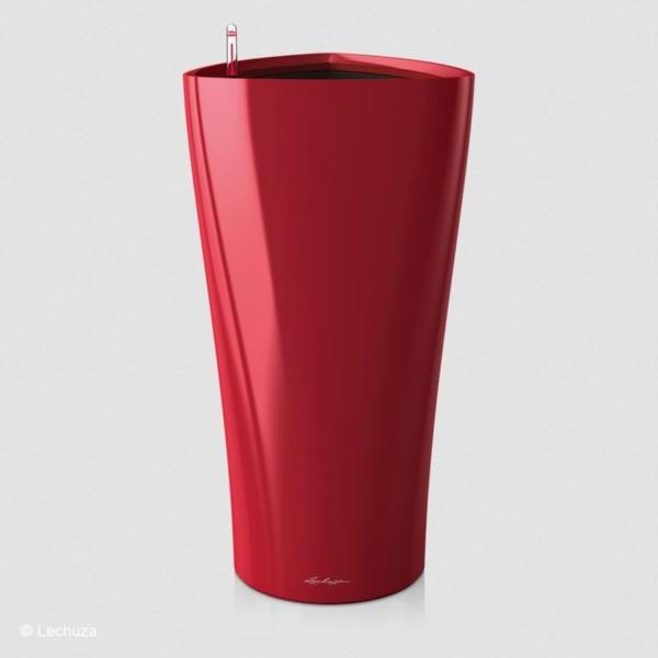 Lechuza Pflanzsäule Delta 30 scarlet rot hochglanz 15519