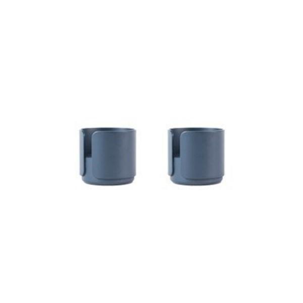 DesignBite BIG HUG 2er Set Teelichthalter Eierhalter blau midnight blue