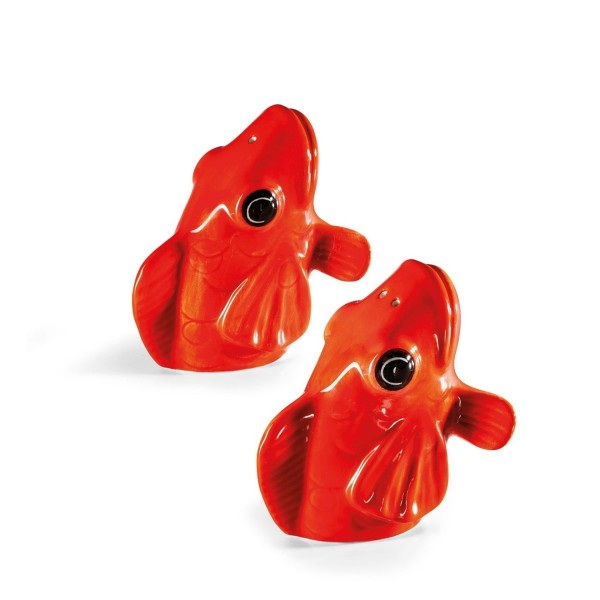 Donkey Products Salz- und Pfefferstreuer Fishes for Dishes 210730