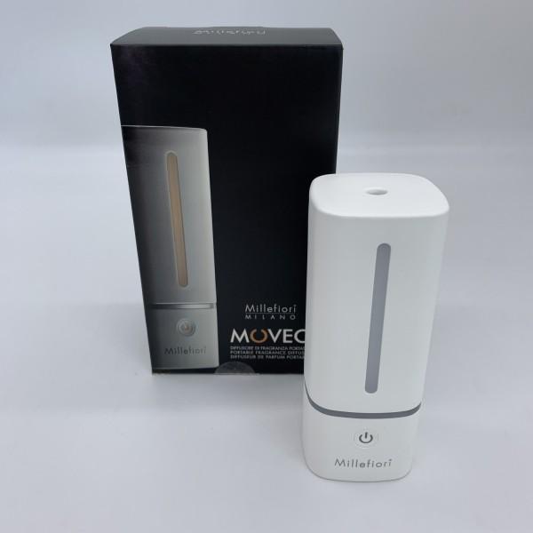 Millefiori Milano Moveo Raumduftdiffusor Wireless/USB weiß 99WDWH