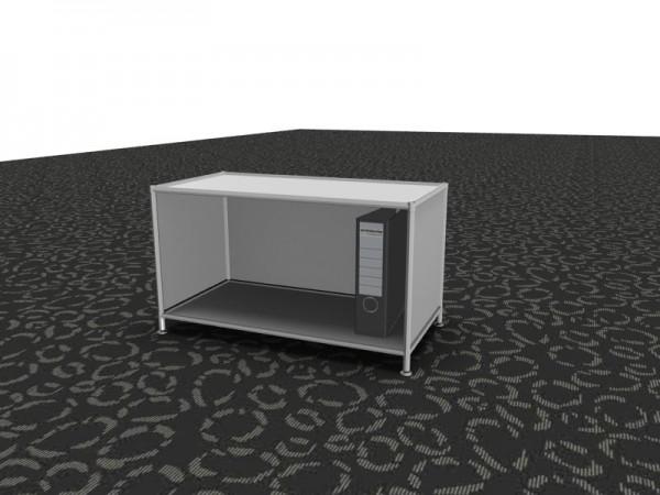 Grundregalelement weiß System 4 by Viasit