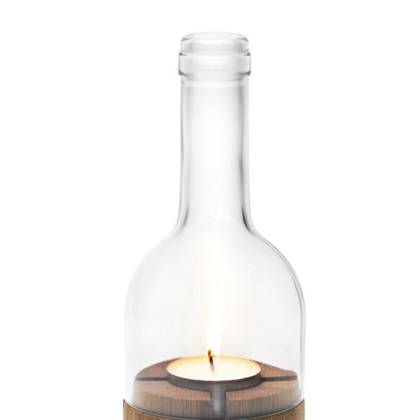 Side by Side Ersatzglas für Weinlicht Windlicht klar 40058C