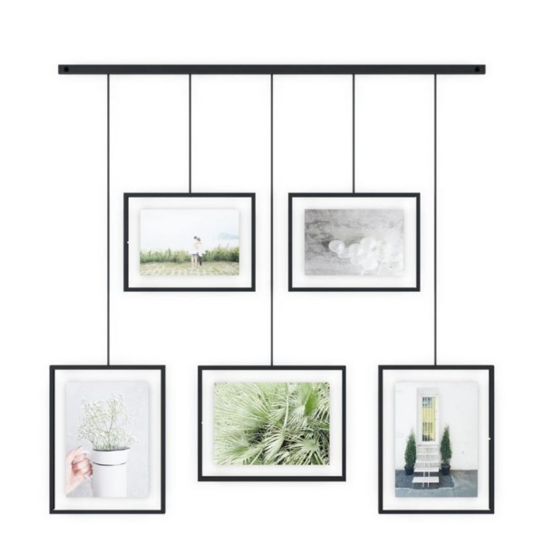 Umbra Bilder-Display Exhibit 5er-Set schwarz 1013426-040