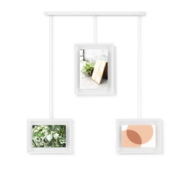 Umbra Bilder-Display Exhibit 3er-Set weiß 1016057-660
