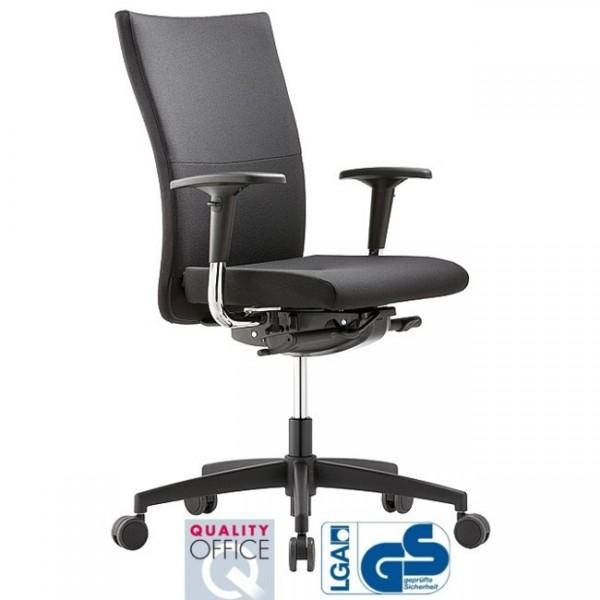 Bürodrehstuhl Extra 8 hohe Rückenlehne und Kopfstütze