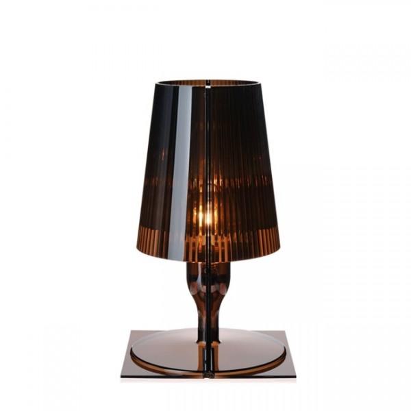 Kartell Nachttischlampe Take fumé 9050Q2