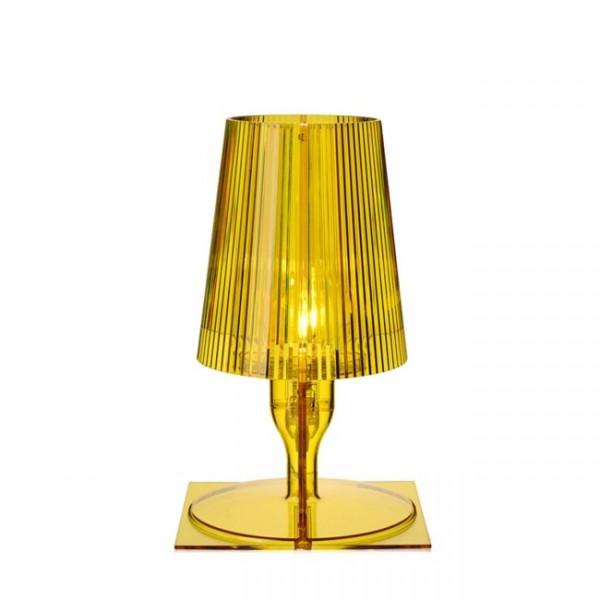 Kartell Nachttischlampe Take gelb 9050Q6