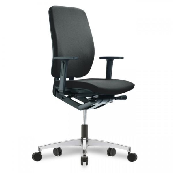 Bürodrehstuhl Globeline6 2D AL Sitzneige- Sitztiefenv. Schnelllieferprogramm