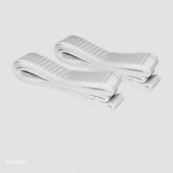 Lechuza Gurtband für Balconera 80 cm weiß-grau 19040
