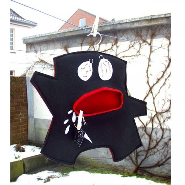Wäscheklammerbeutel Mr. Black 011004