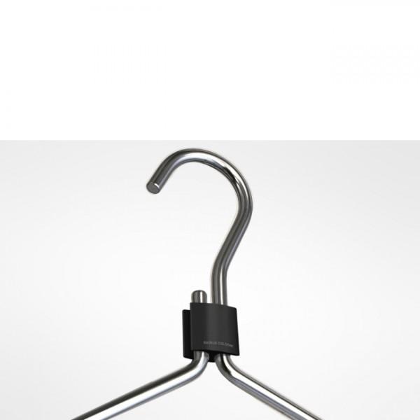Kleiderbügel Clip schwarz 353a