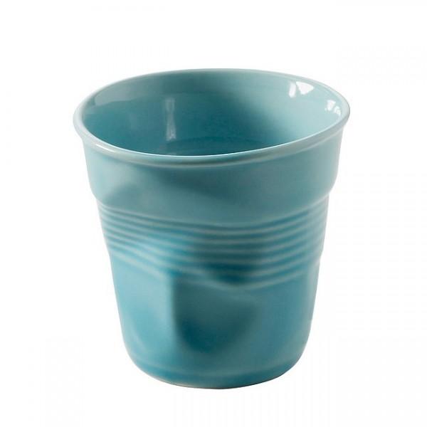 Revol Knickbecher Tasse Cappuccino karibikblau 180ml RV638122