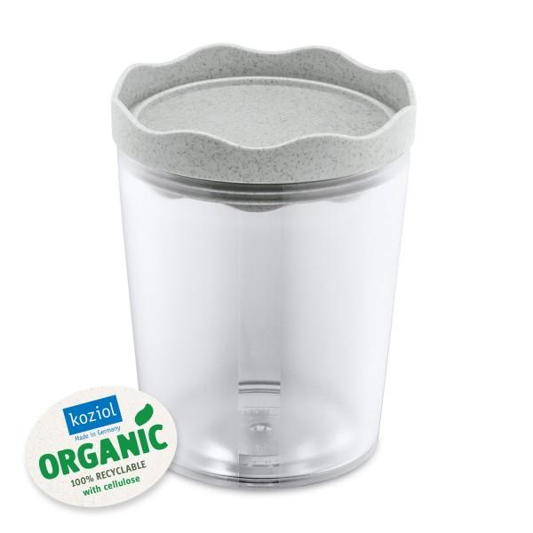 Koziol Vorratsdose PRINCE M 750ml organic grey 3085670