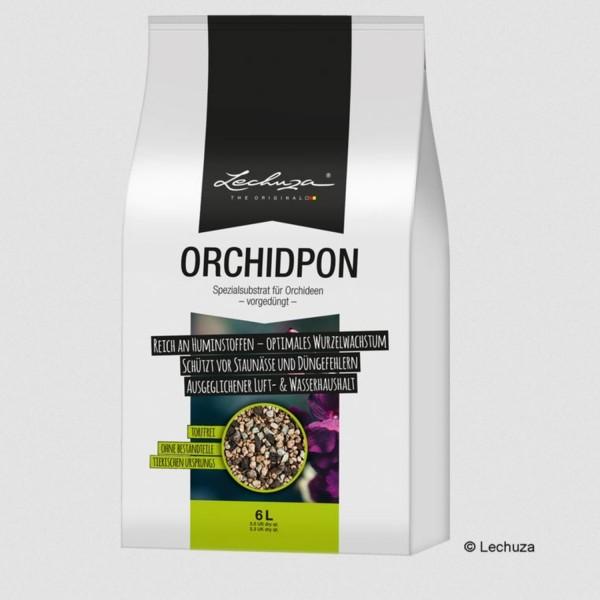Lechuza Orchideenpflanzsubstrat Orchidpon 6 Liter 19581