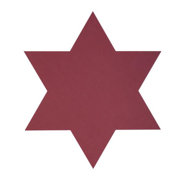 Lind DNA Glasuntersetzer Stern Star Nupo red 87000