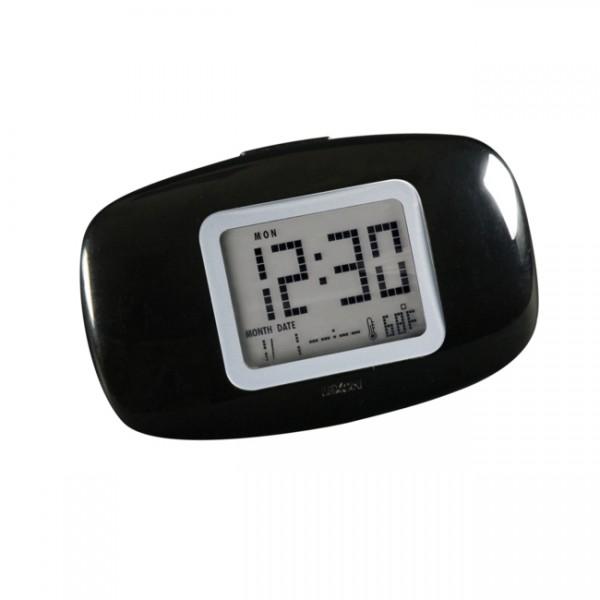 LCD Reisewecker Galaxy clock schwarz LR104N1