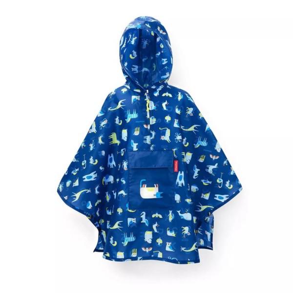 reisenthel® Mini Maxi poncho M kids abc friends blue IG4066