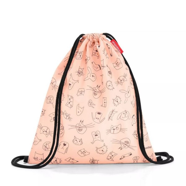 reisenthel® Mysac kids cats and dogs rose IC3064