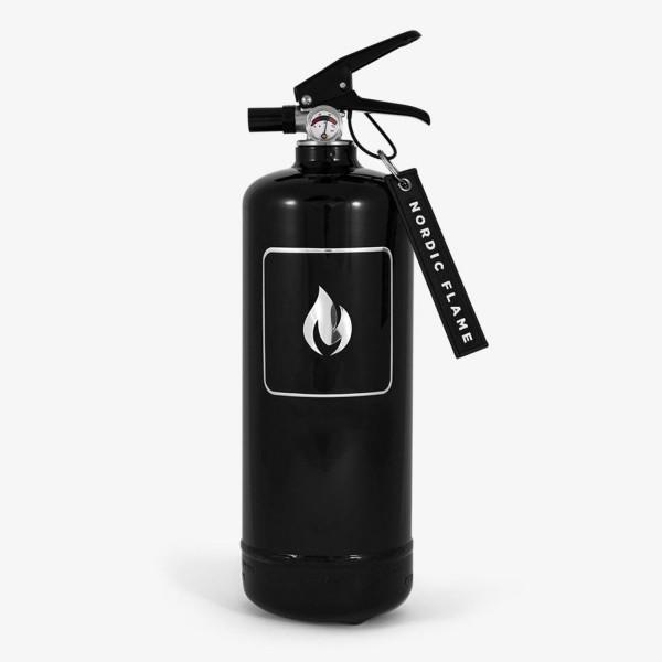 Nordic Flame Feuerlöscher Classic schwarz 2 kg N110
