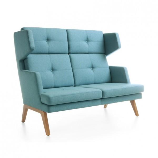 sofa 2 sitzig hohe r ckenlehne october 22 konfigurierbar. Black Bedroom Furniture Sets. Home Design Ideas