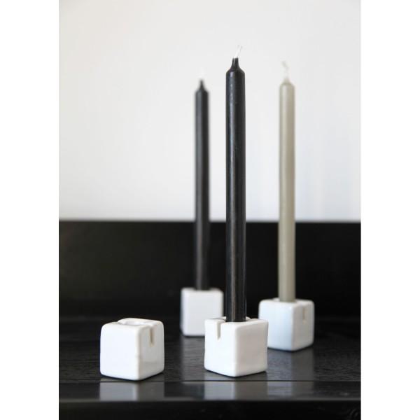 Onshus BLOK Kerzen- und Kärtchenhalter weiß 15253