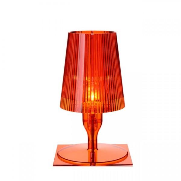 Kartell Nachttischlampe Take orange 9050Q4