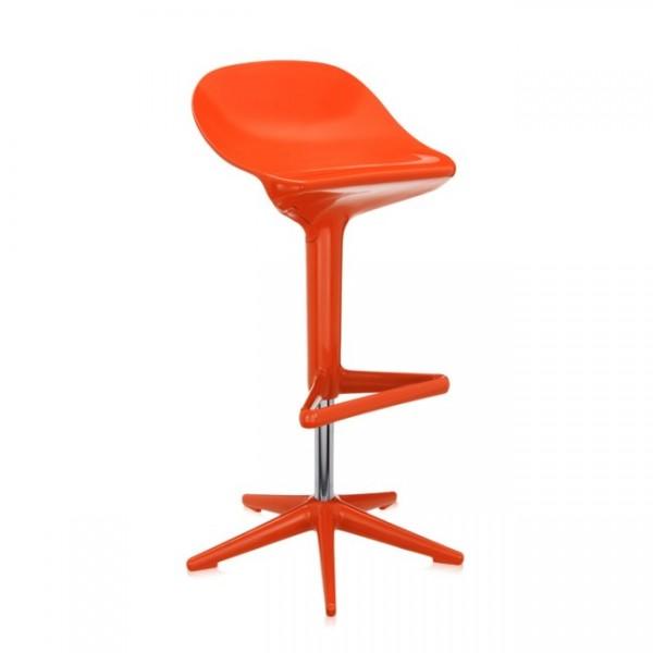 Kartell Hocker Spoon orange 482826