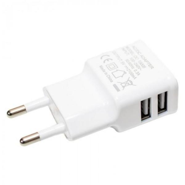 Outchair USB Ladegerät 230V weiß 2103