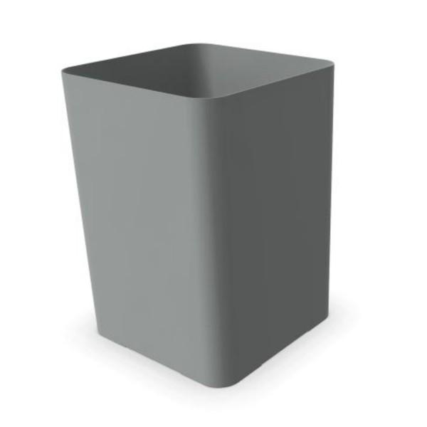 Cascando Papierkorb Flow aluminium H35cm 2219.a