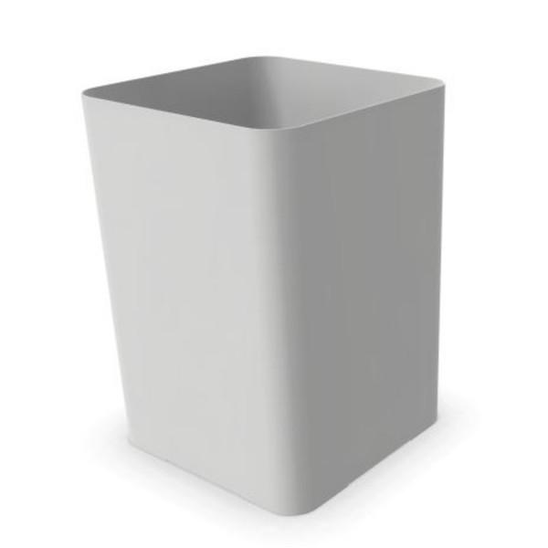 Cascando Papierkorb Flow verkehrsweiß H35cm 2219.w
