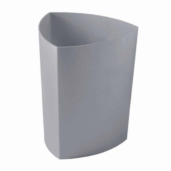 Rexite Papierkorb Eco perlgrau 1500.05.Y7