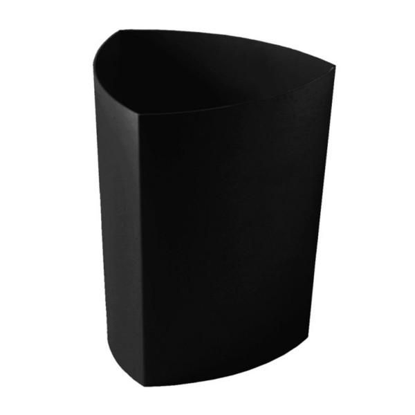 Rexte Papierkorb Eco Pro schwarz 1500.PP.P5.03