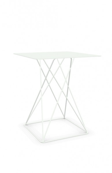 Cascando Tisch Beistelltisch Platform 6350.w verkehrsweiß RAL9016