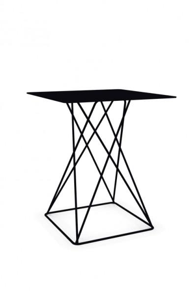 Cascando Tisch Beistelltisch Platform 6350.b verkehrsschwarz RAL9017