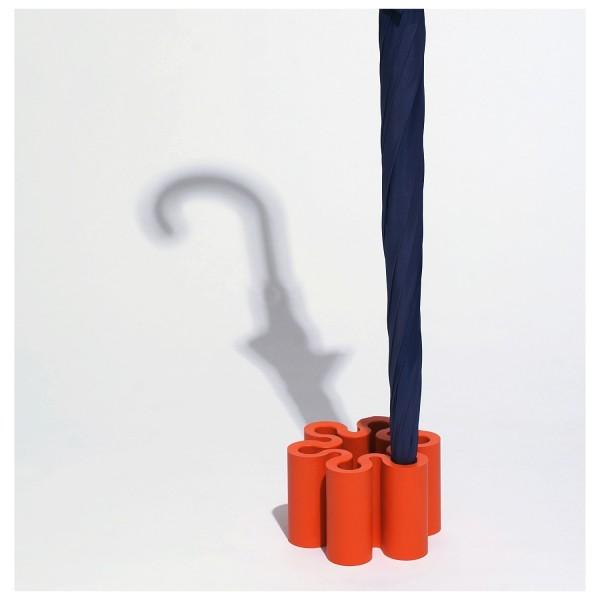 Schirmständer Splash orange D010-OR