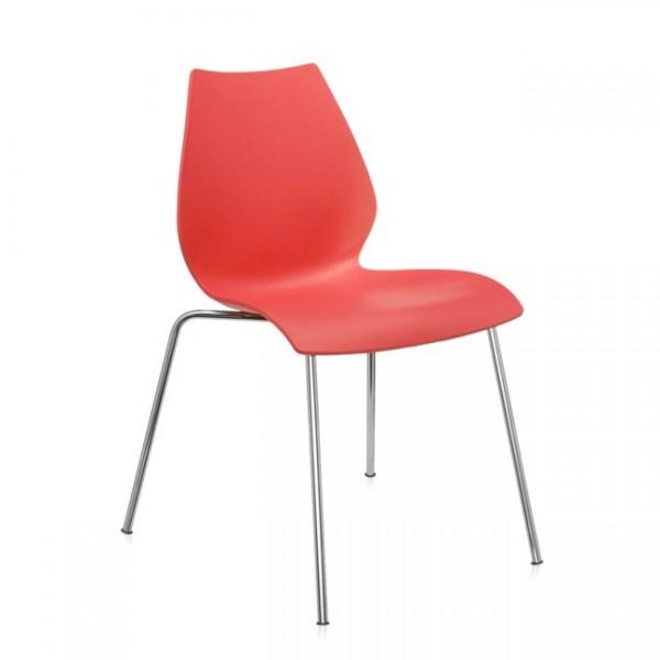 Stühle im 4er Set Maui purpurrot 28714M