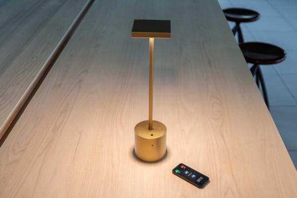 Radius Absolut Liberty light gold Remote Fernbedienung 1181F Tischleuchte Akku