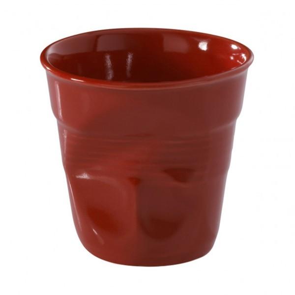 Revol Knickbecher Tasse Espresso piment rot 80ml RV619088