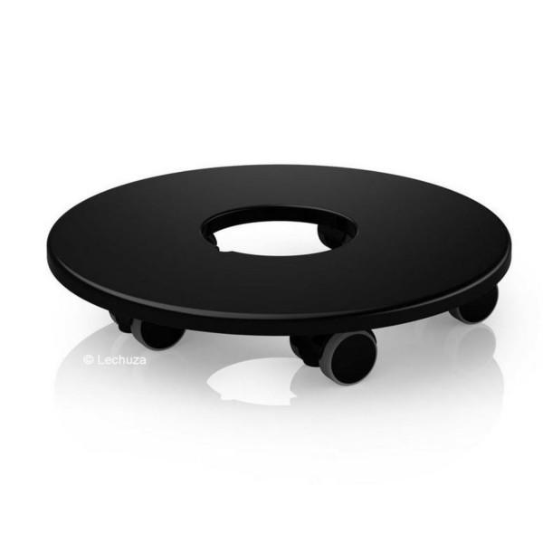 Lechuza Rolluntersetzer für Classico50/Quadro50/Canto40/Cube40/Cursivo40 schwarz 13403
