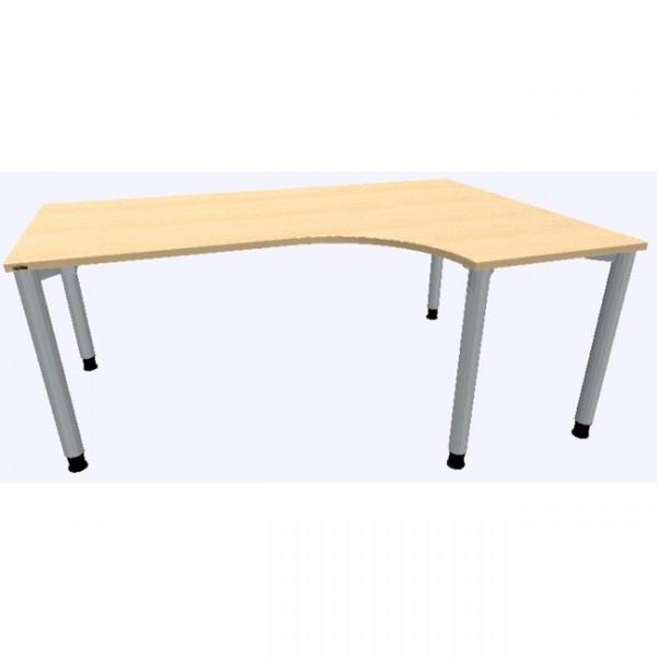 Assmann Schreibtisch Rondana Freiform konfigurierbar