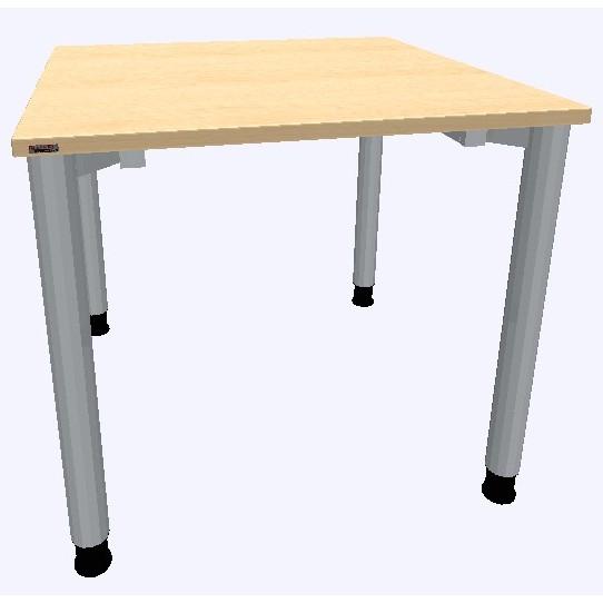 Assmann Schreibtisch Rondana 80x80cm konfigurierbar
